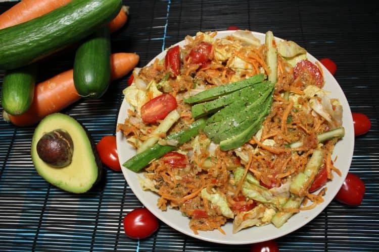 Veg Salsa Salad