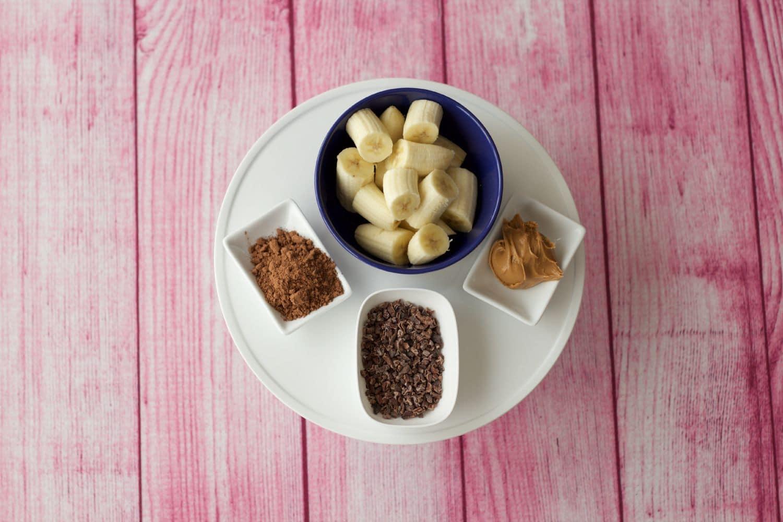 Chocolate Peanut Butter Smoothie Ingredients #vegan #lovingitvegan