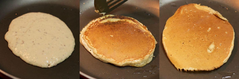 Making #vegan coconut pancakes