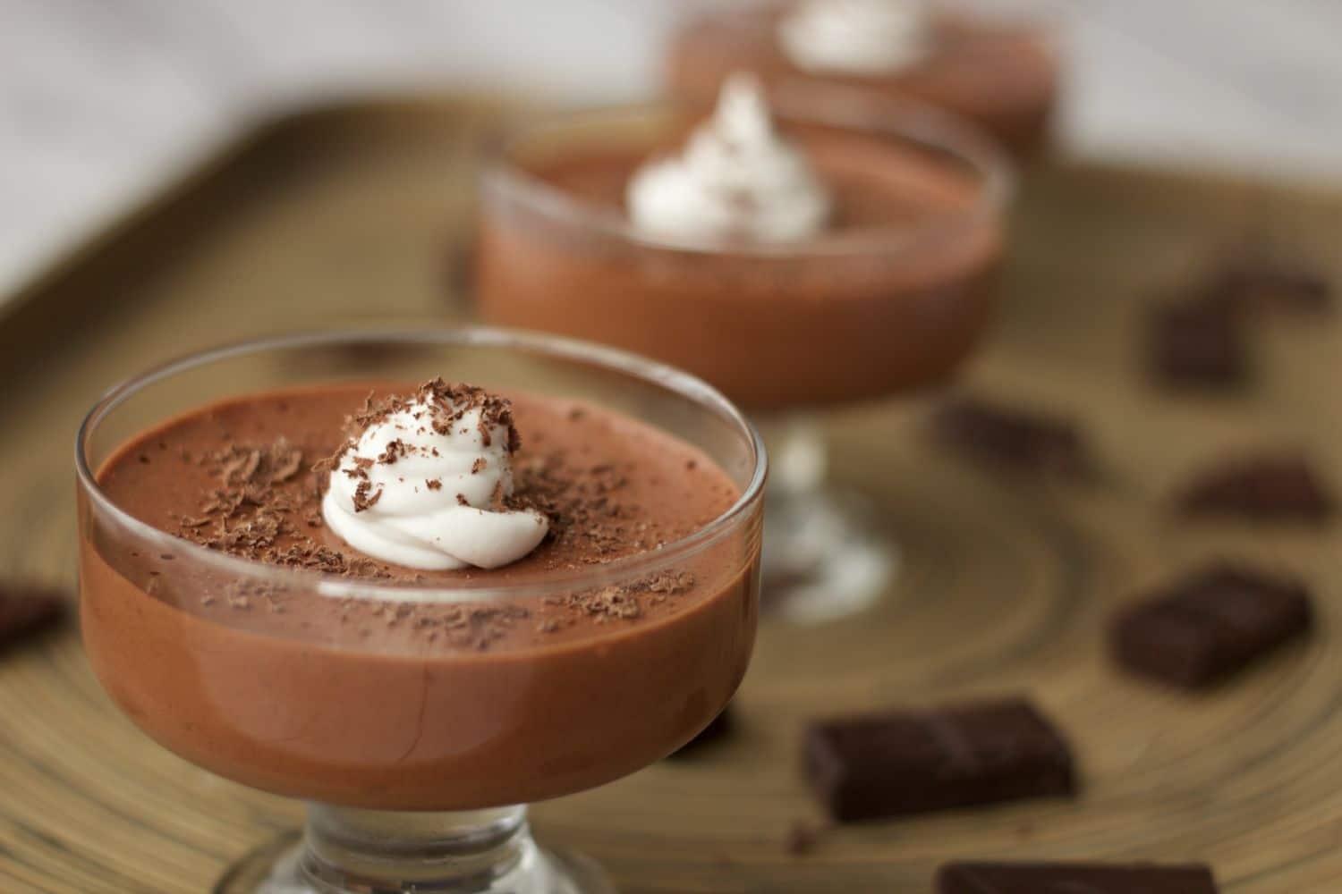 Vegan Peppermint Chocolate Mousse - Loving It Vegan