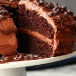 Vegan Chocolate Cake – Tender and Moist