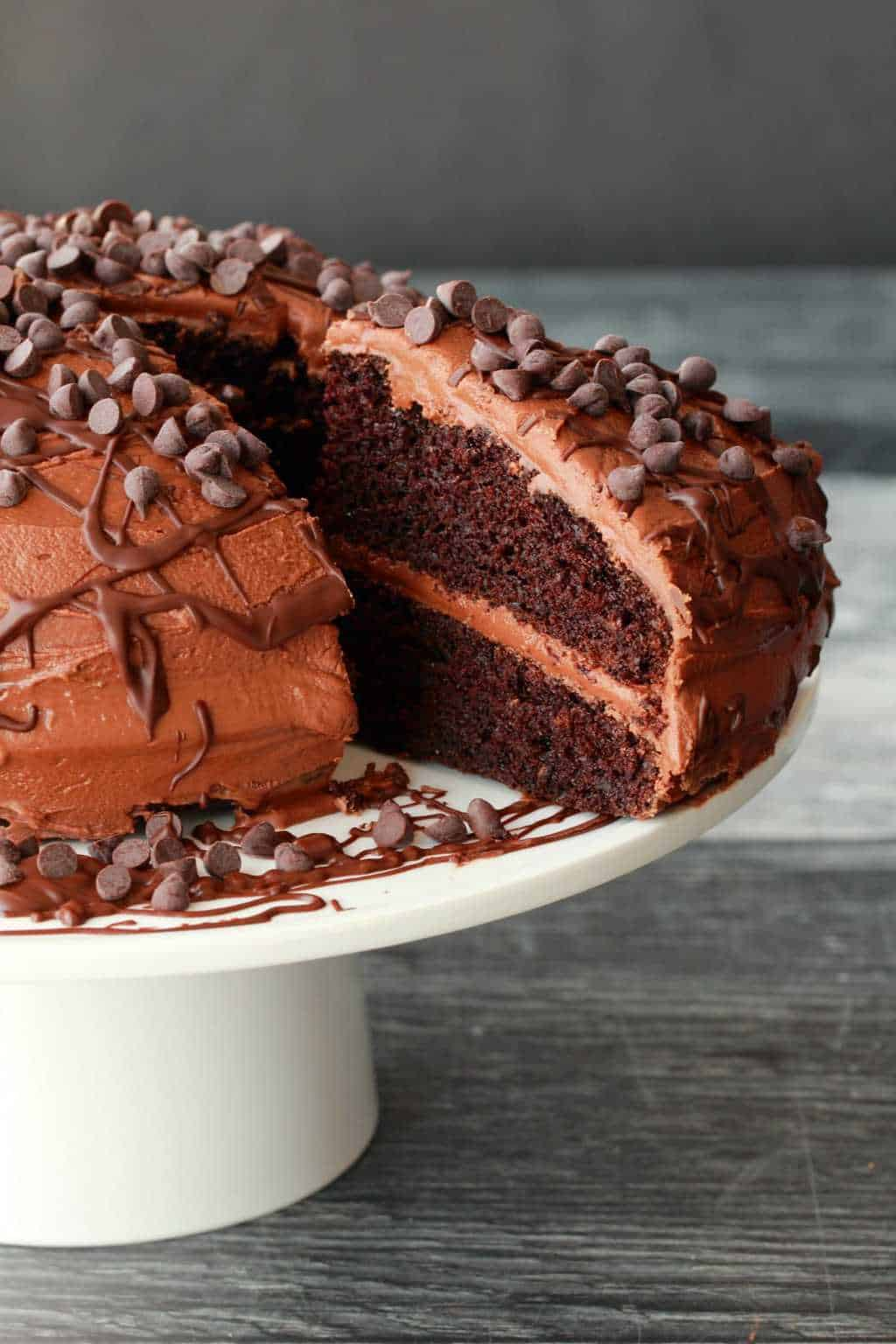 Classic Vegan Chocolate Cake Loving It Vegan