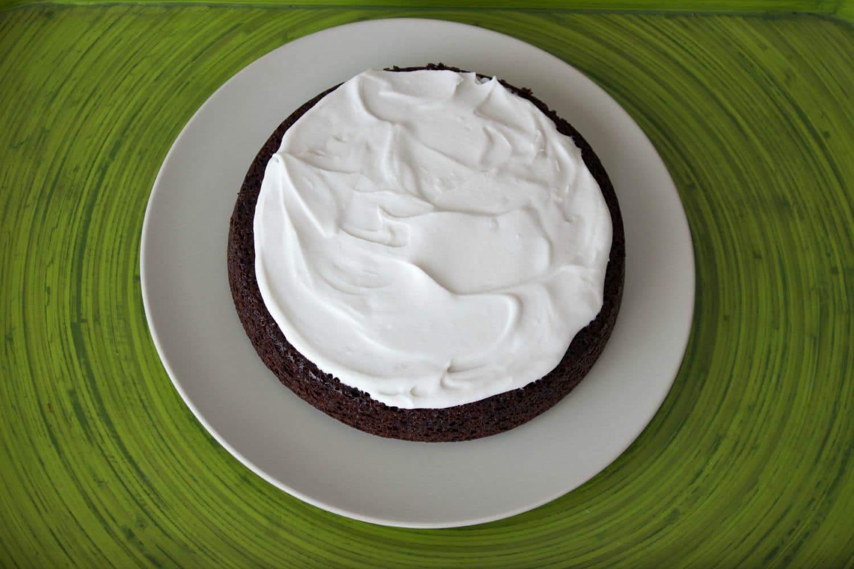 Vegan Chocolate Cake with Whipped Coconut Cream #Vegan #Dairy-Free