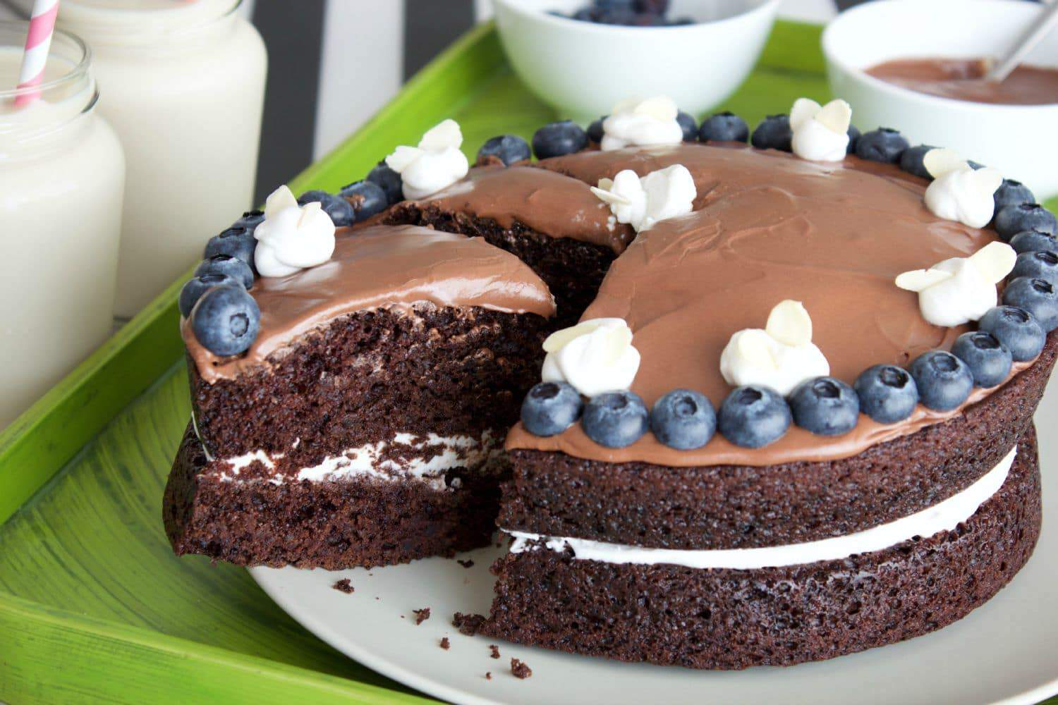 Good Food Vegan Chocolate Cake