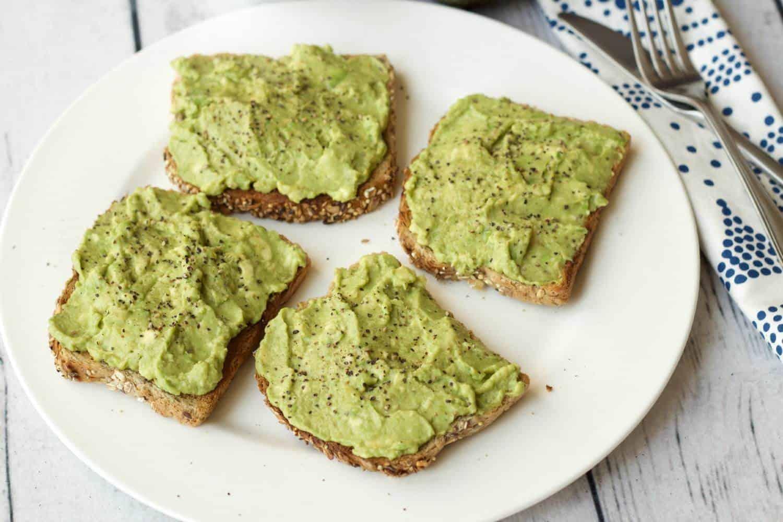 The most perfectly simple and delicious avocado toast recipe! #vegan #lovingitvegan #dairyfree