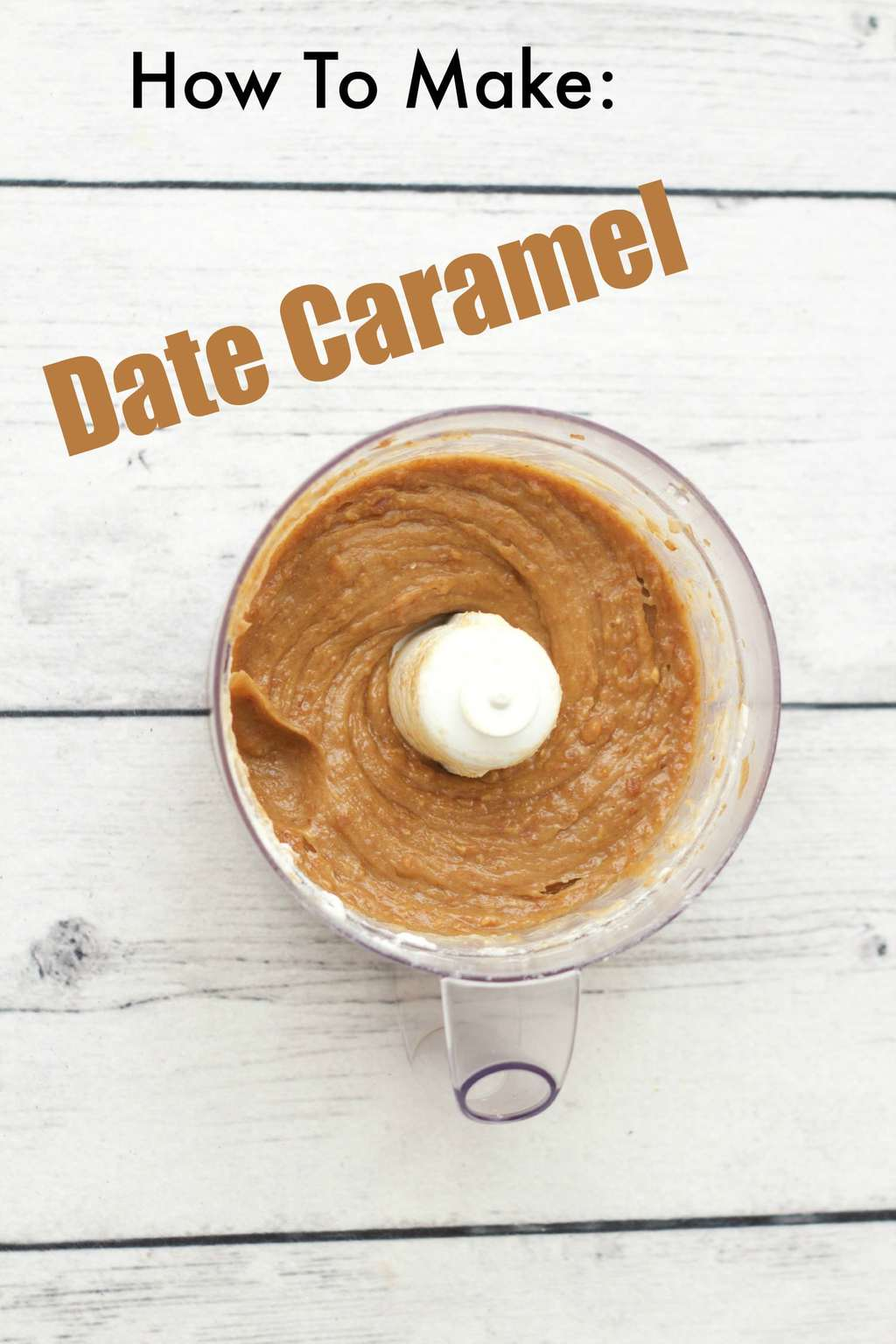 Easy 2-ingredient date caramel, ideal as a pie filling, ice cream swirl or topping. Rich, creamy and so delicious! #vegan #lovingitvegan #dairy-free #gluten-free