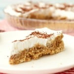 Vegan Caramel Cream Pie