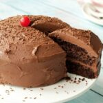 Gluten Free Chocolate Cake with Chocolate Ganache Frosting