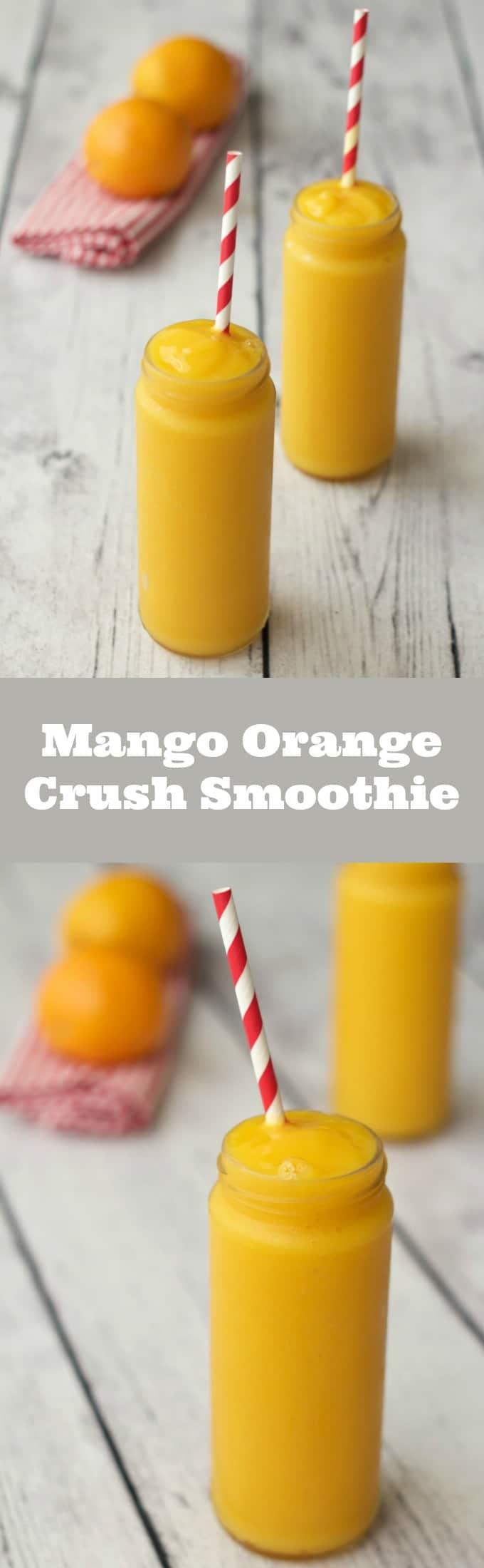 Mango Orange Crush Smoothie #vegan #lovingitvegan #dairyfree