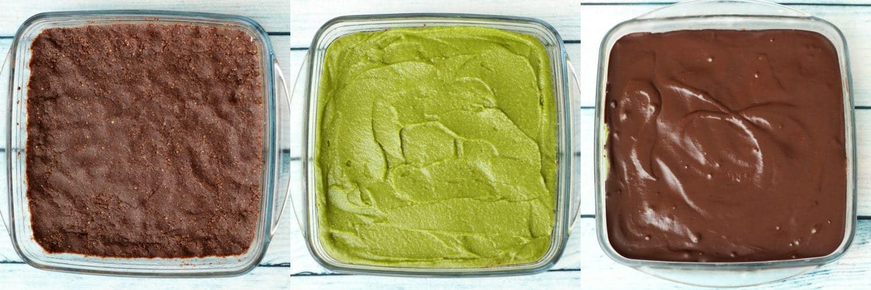 Making Raw Chocolate Mint Squares #vegan #dessert #rawvegan #lovingitvegan