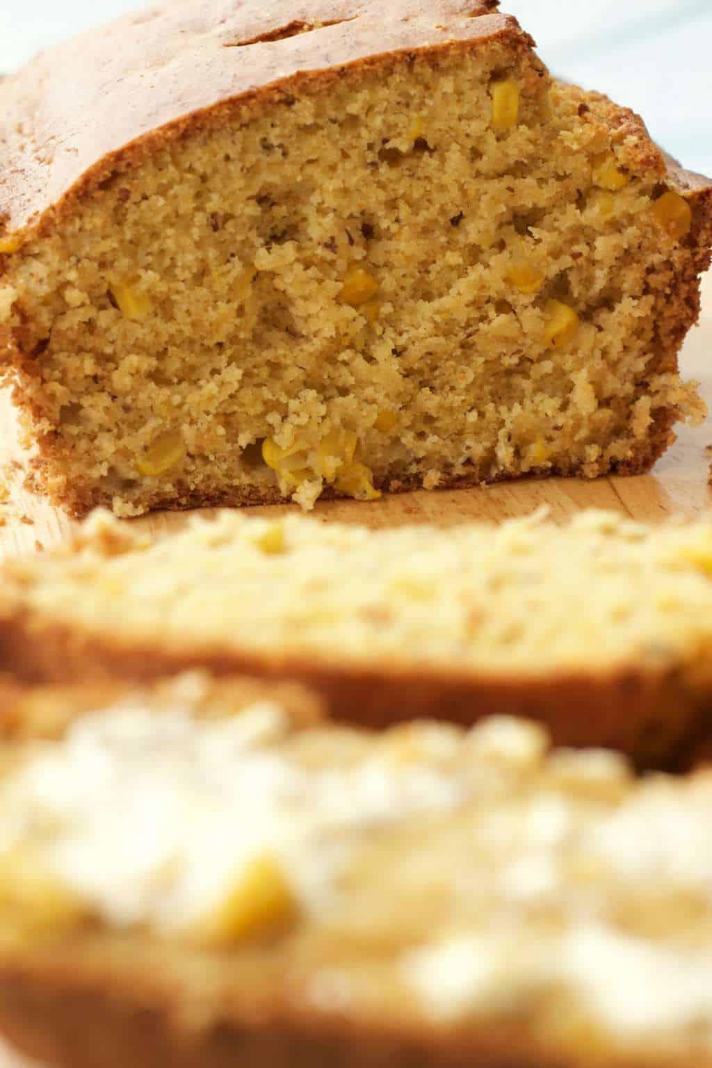 Perfectly Sweet Vegan Cornbread #vegan #lovingitvegan #dairyfree #bread