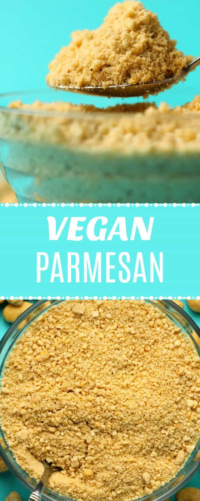 Making your own vegan parmesan cheese is so fabulous you'll likely want to keep a permanent batch of this in your fridge and sprinkle it on EVERYTHING! | lovingitvegan.com