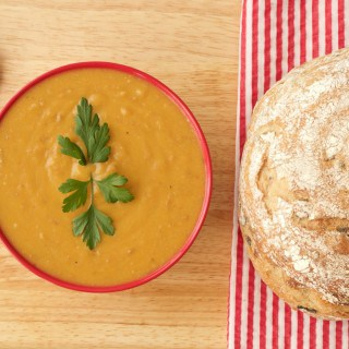 Vegetable and Pinto Bean Soup