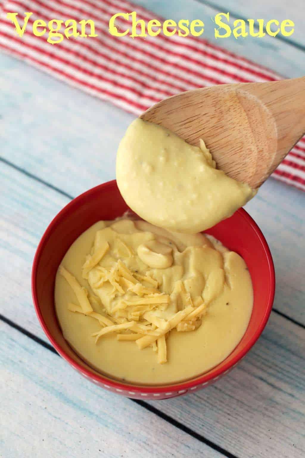 Vegan Cheese Sauce #vegan #lovingitvegan #cheesesauce #dairyfree