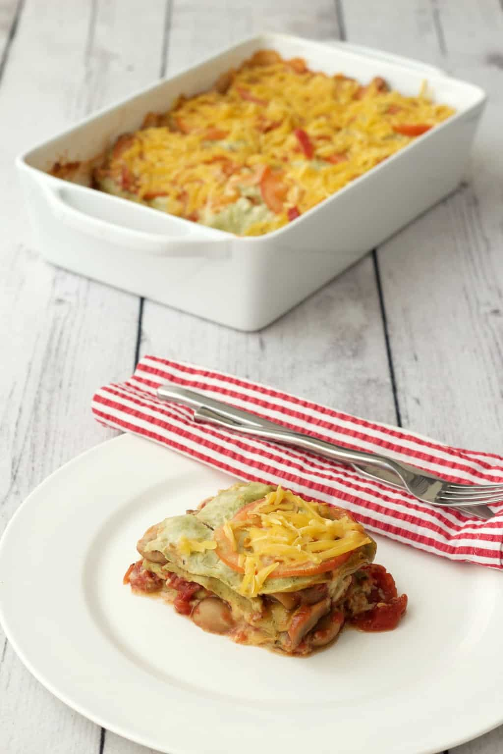 http://lovingitvegan.com/the-easiest-vegan-lasagna/