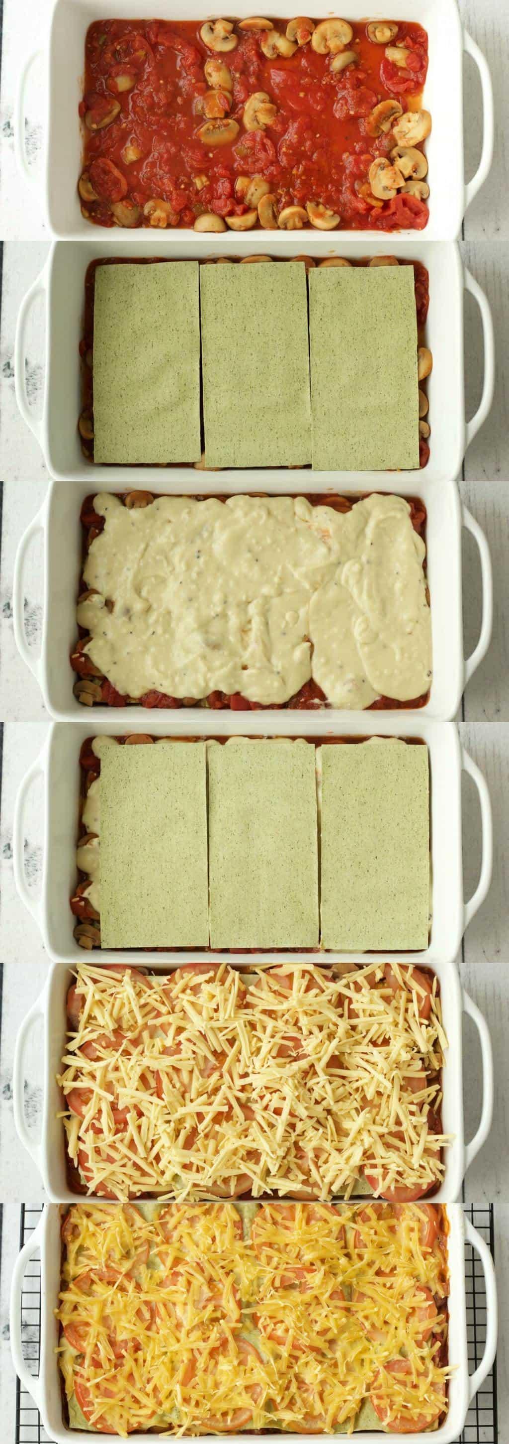 Making Vegan Lasagna #vegan #lovingitvegan #lasagna #entree