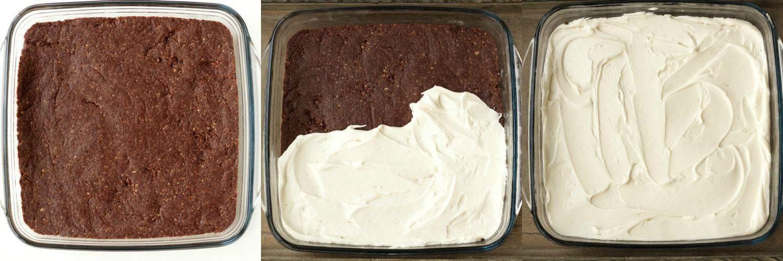 Making #Vegan Top Deck No Bake Brownies #lovingitvegan