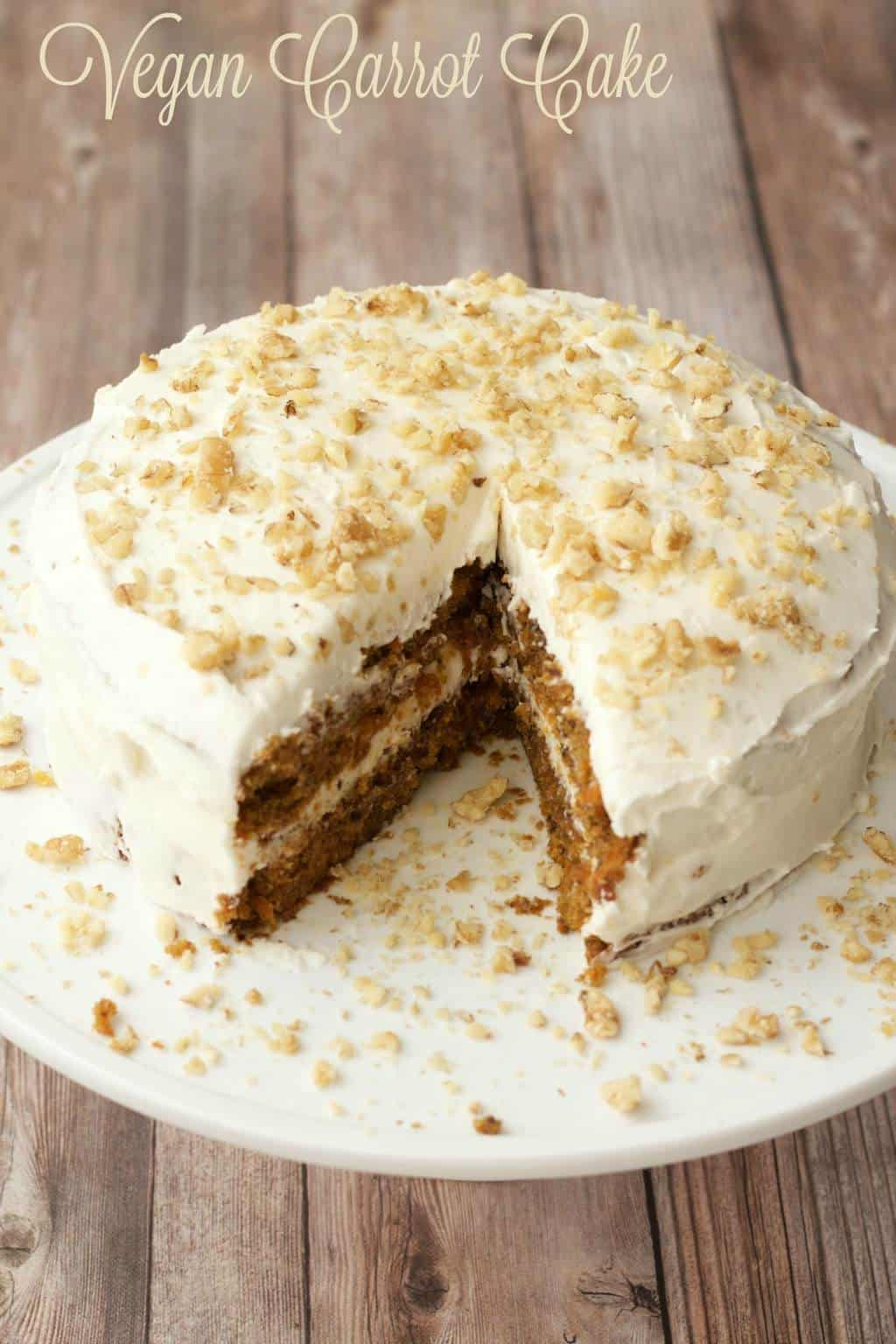 Carrot Cake With Buttercream Frosting Recipe