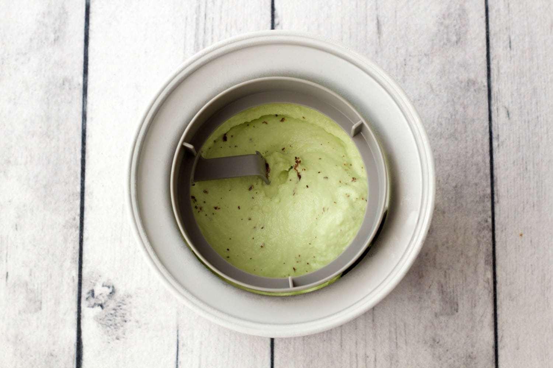 Vegan Mint Chocolate Chip Ice Cream #icecream #dessert #vegan #glutenfree #dairyfree #lovingitvegan