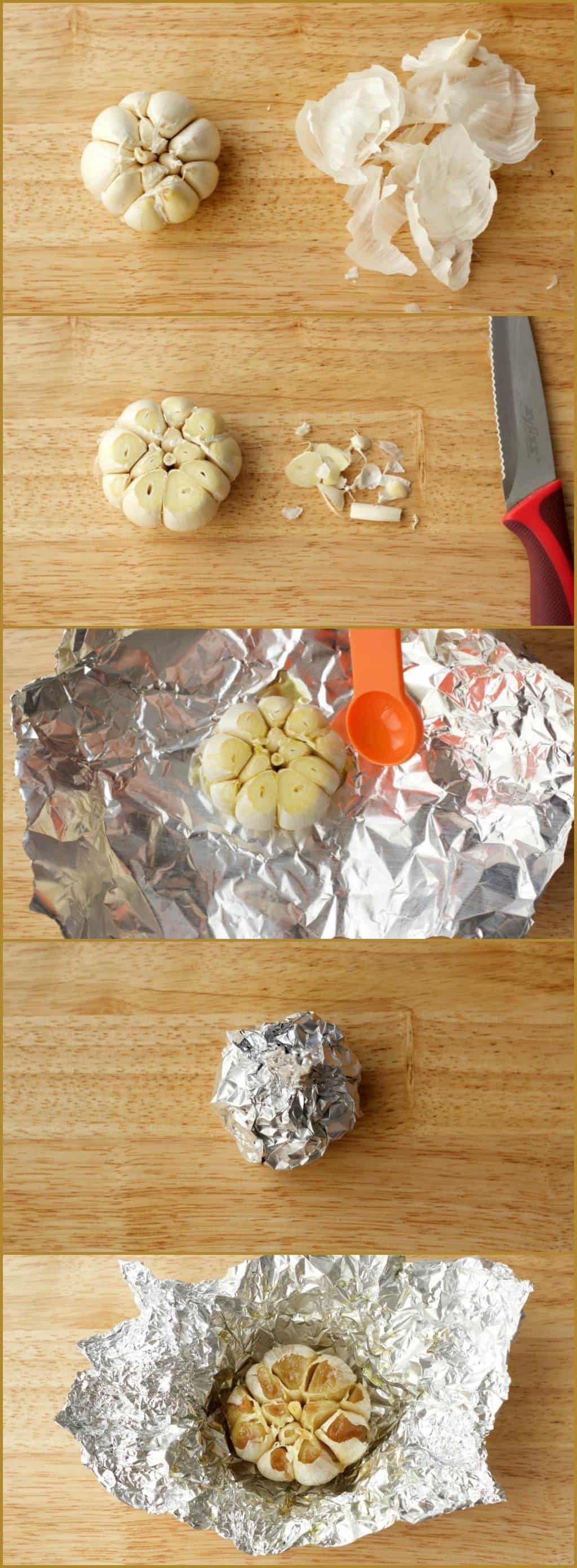 How To Make Roasted Garlic #lovingitvegan #roastedgarlic #howto