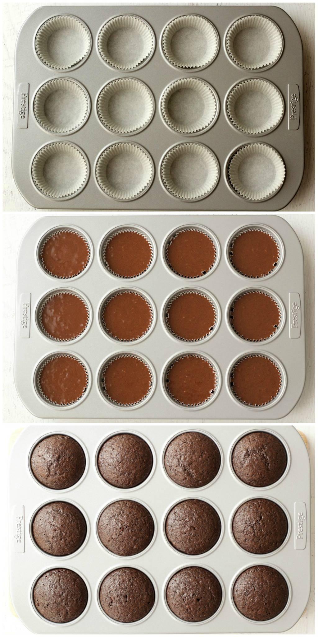 Making Vegan Chocolate Cupcakes with Mint Buttercream Frosting #vegan #lovingitvegan