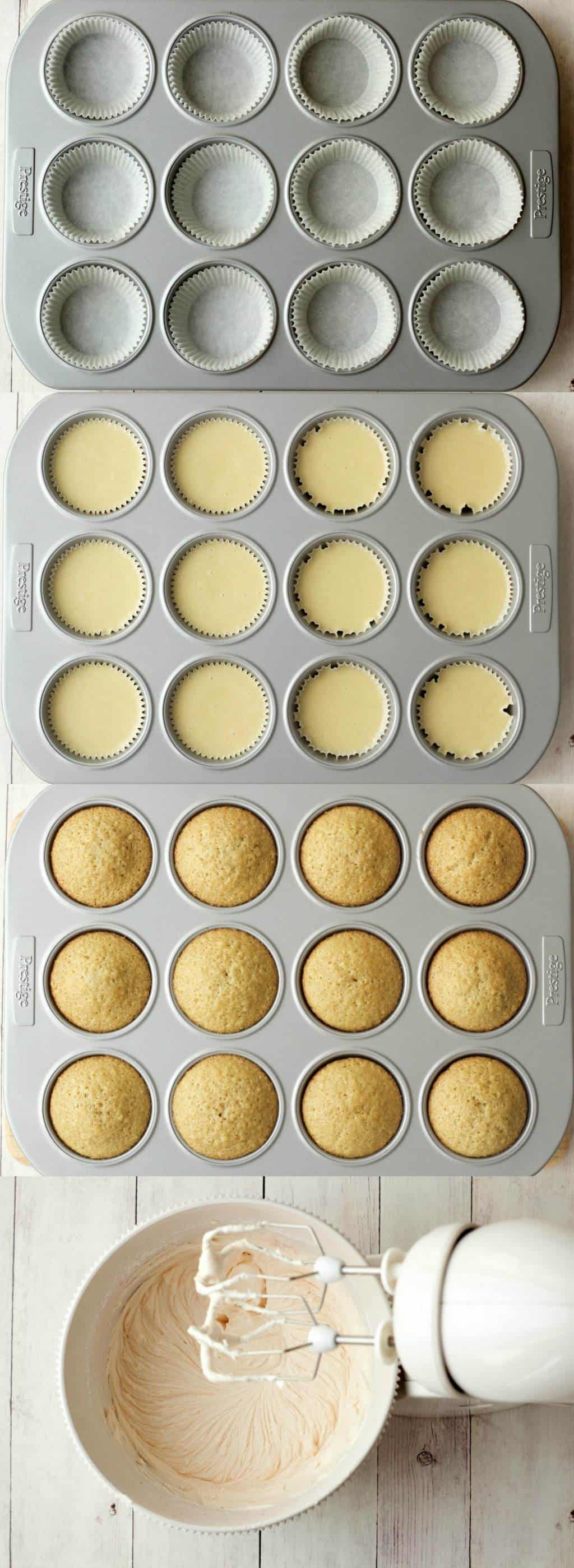 Making Vegan Vanilla Cupcakes with Strawberry Vanilla Frosting #vegan #lovingitvegan