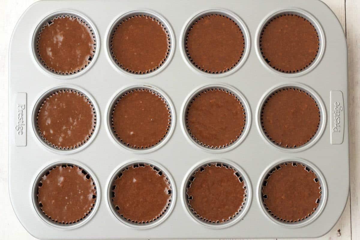 Making Gluten-Free Chocolate Cupcakes #vegan #lovingitvegan #glutenfree