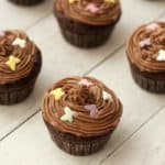 Gluten-Free Chocolate Cupcakes with Chocolate Buttercream Frosting