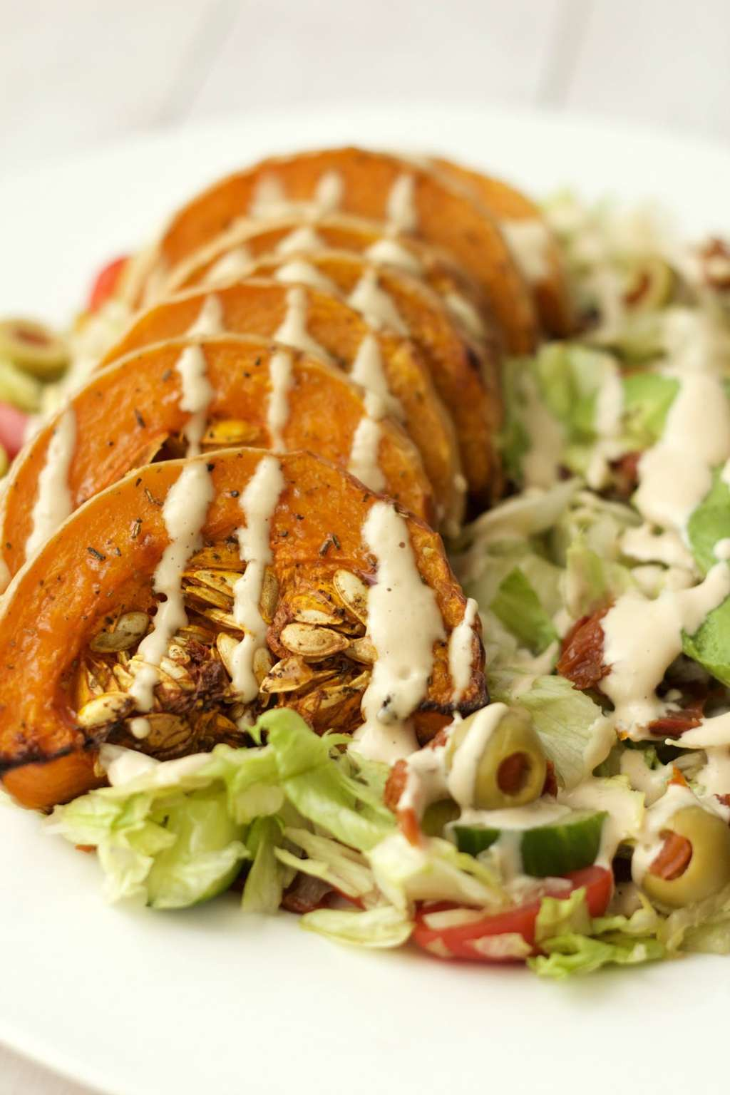 Roasted Butternut and Avocado Salad 9