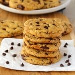 Vegan Chocolate Chip Cookies – Soft and Chewy