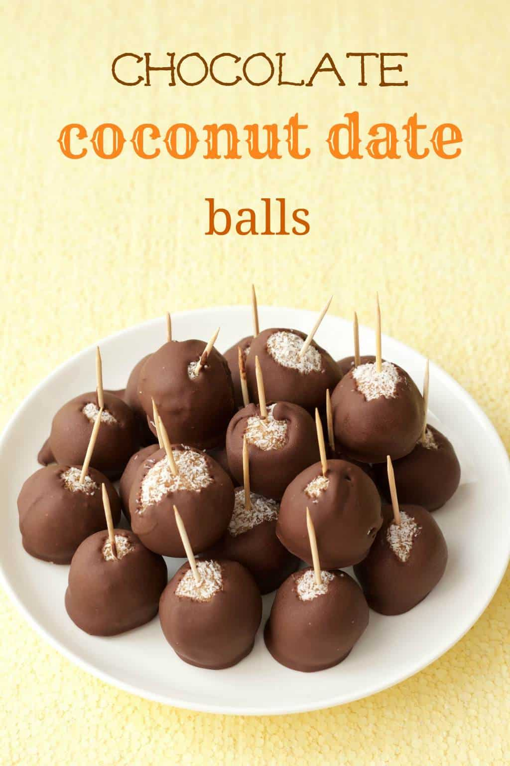 Chocolate Coconut Date Balls #vegan #lovingitvegan #dessert #dateballs #coconut #dairyfree #glutenfree