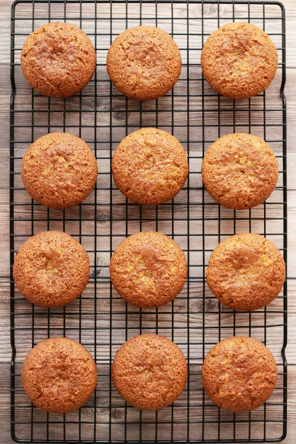Making Gluten-Free Vegan Vanilla Cupcakes #vegan #glutenfree #lovingitvegan