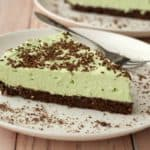 Vegan grasshopper pie
