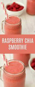 Raspberry Chia Smoothie