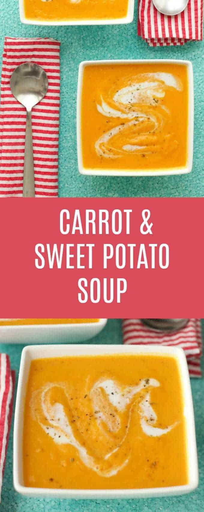 Spicy Thai Carrot and Sweet Potato Soup - Loving It Vegan