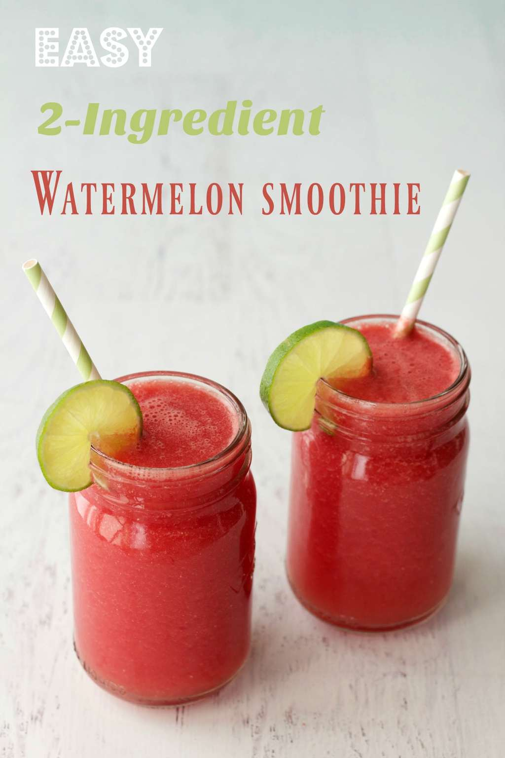Watermelon Smoothie #vegan #lovingitvegan #smoothie #watermelon #watermelonsmoothie