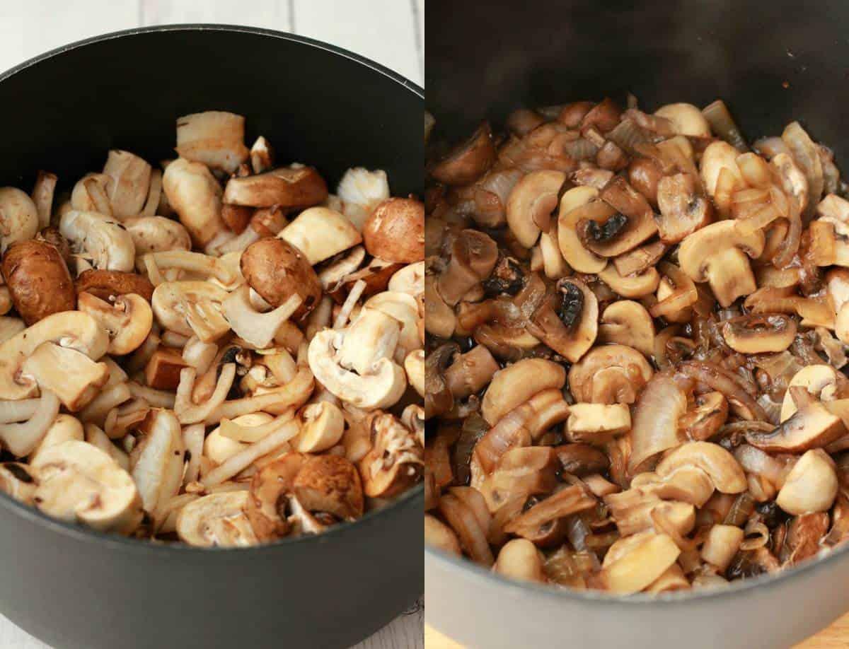 Vegan Cream of Mushroom Soup #vegan #lovingitvegan #appetizer #mushroomsoup #glutenfree