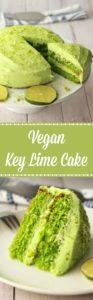 Vegan Key Lime Cake