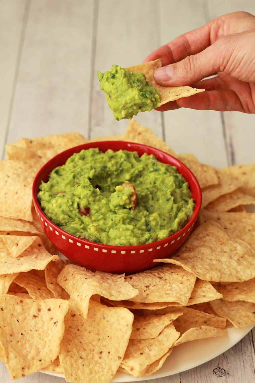 how to make guacamole simple