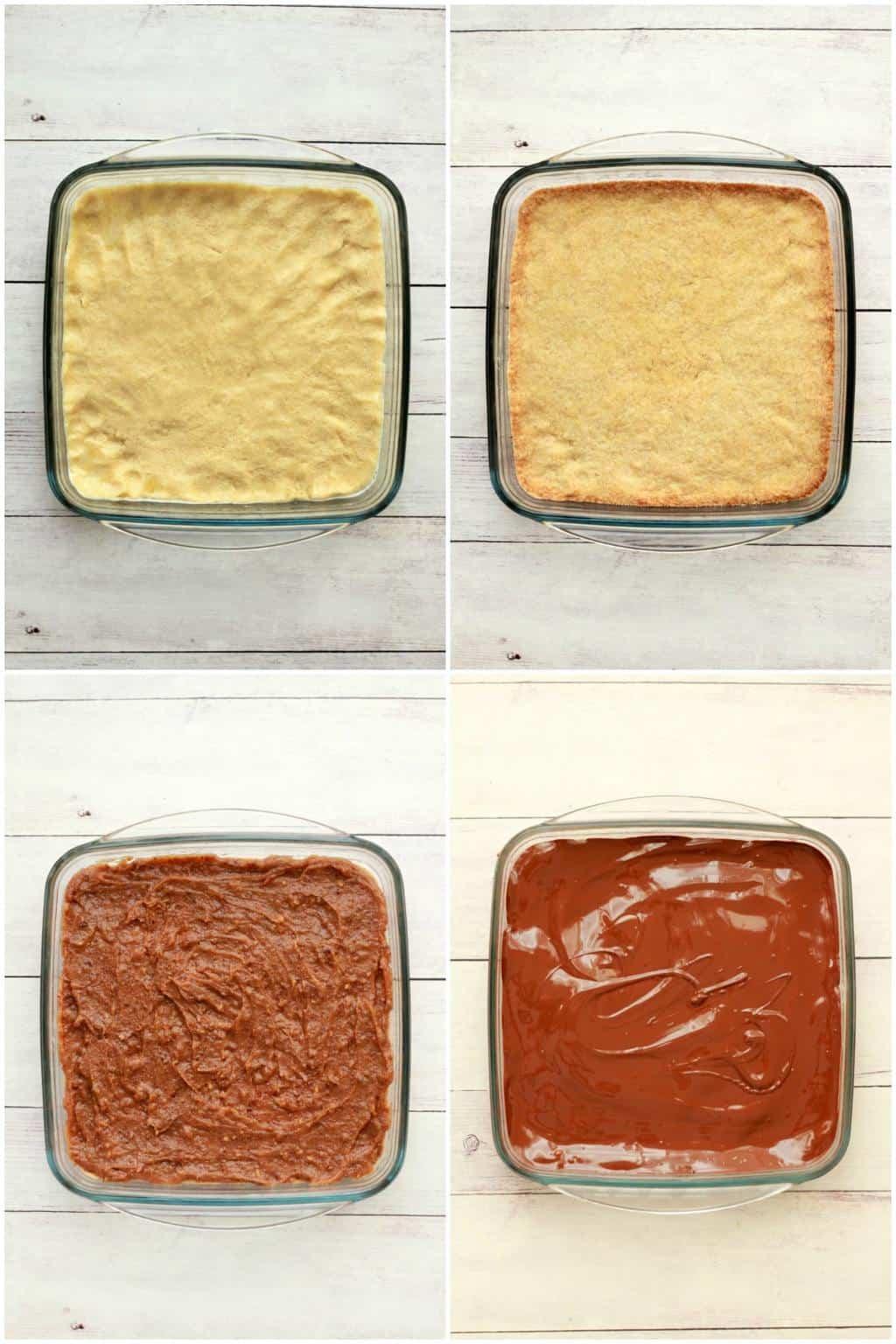 Making Homemade Twix Bars #vegan #lovingitvegan #twixbars #twix #dessert