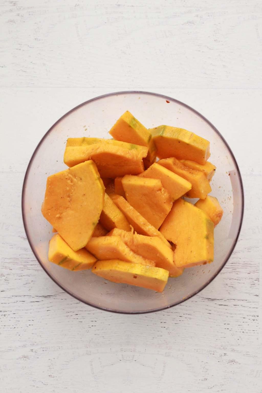 Making Pumpkin Hummus #vegan #lovingitvegan #glutenfree #pumpkin #hummus #appetizer #side #dip