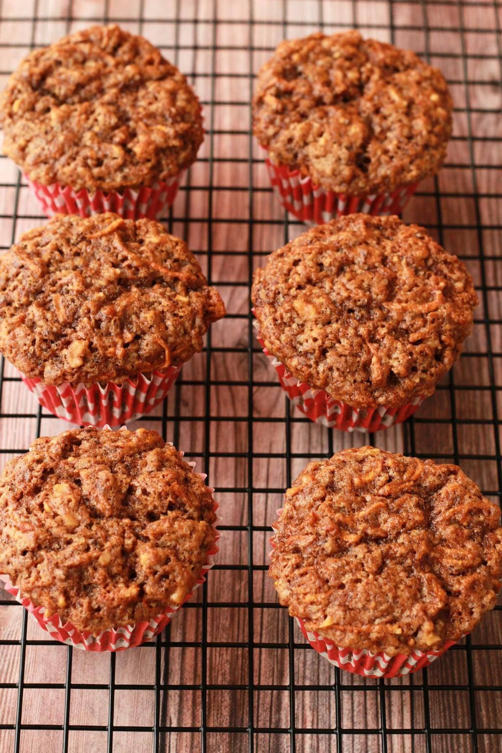 Vegan Carrot Cake Cupcakes with walnuts and orange zest. #vegan #lovingitvegan #carrotcakecupcakes #cupcakes #dessert
