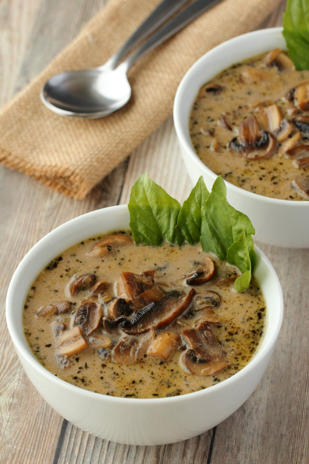 Vegan Cream Of Mushroom Soup Loving It Vegan