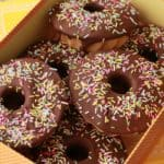 Baked Vegan Donuts (Dipped in Chocolate!)