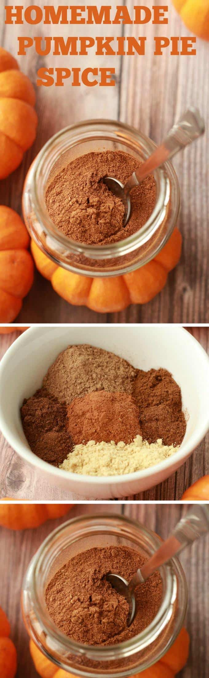 Pumpkin Pie Spice Recipe - Delicious blend of 5 spices perfect for all your pumpkin recipes! #vegan #lovingitvegan #pumpkinpie #spice