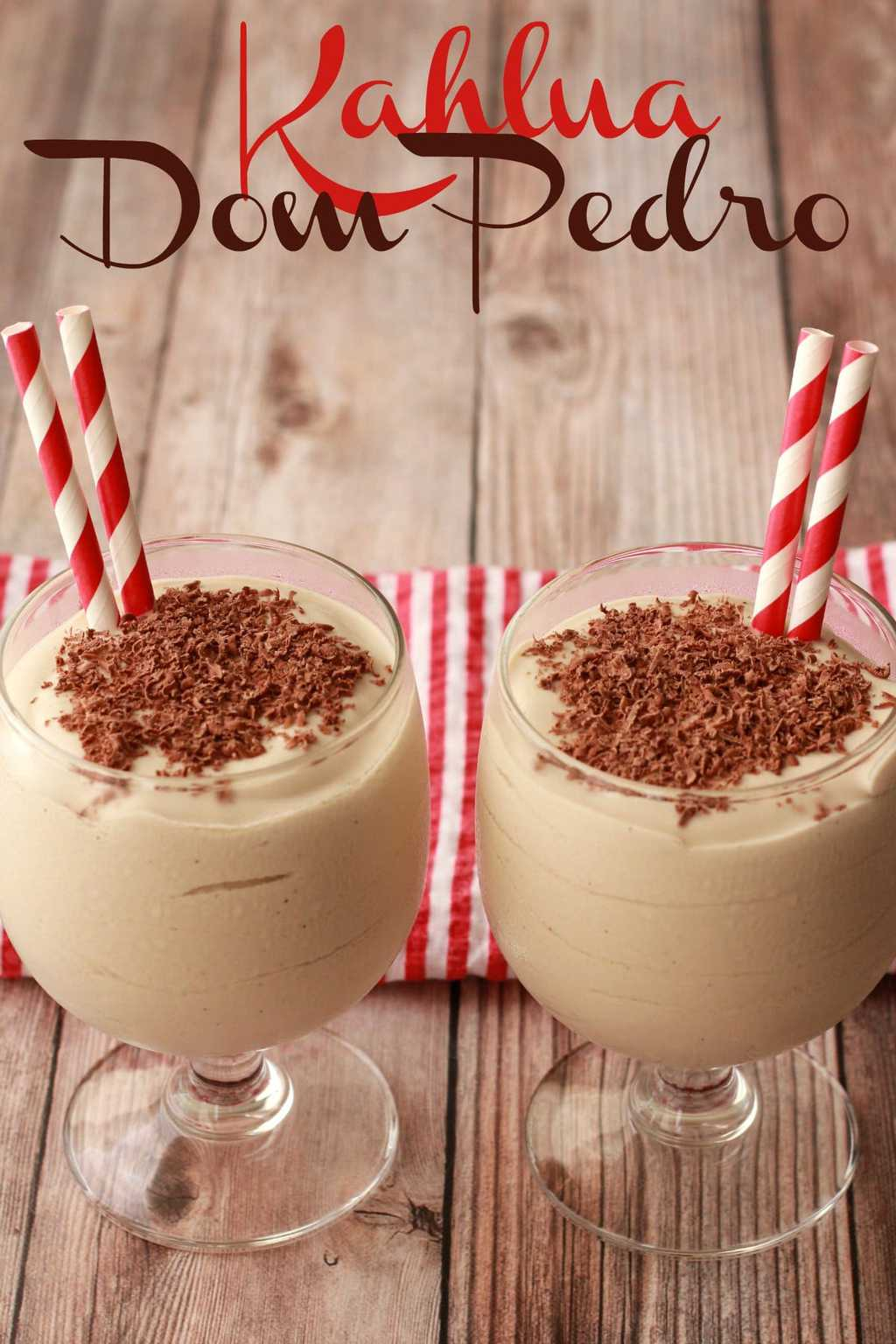Vegan Kahlua Milkshake, also known as a Kahlua Dom Pedro. Double-thick, ultra-creamy, fabulously boozy, this is the perfect way to end off a celebratory meal! #vegan #lovingitvegan #dompedro #kahlua #milkshake #dairyfree #dessert
