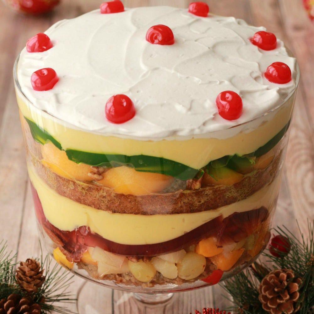 Festive Vegan Trifle Recipe Loving It Vegan