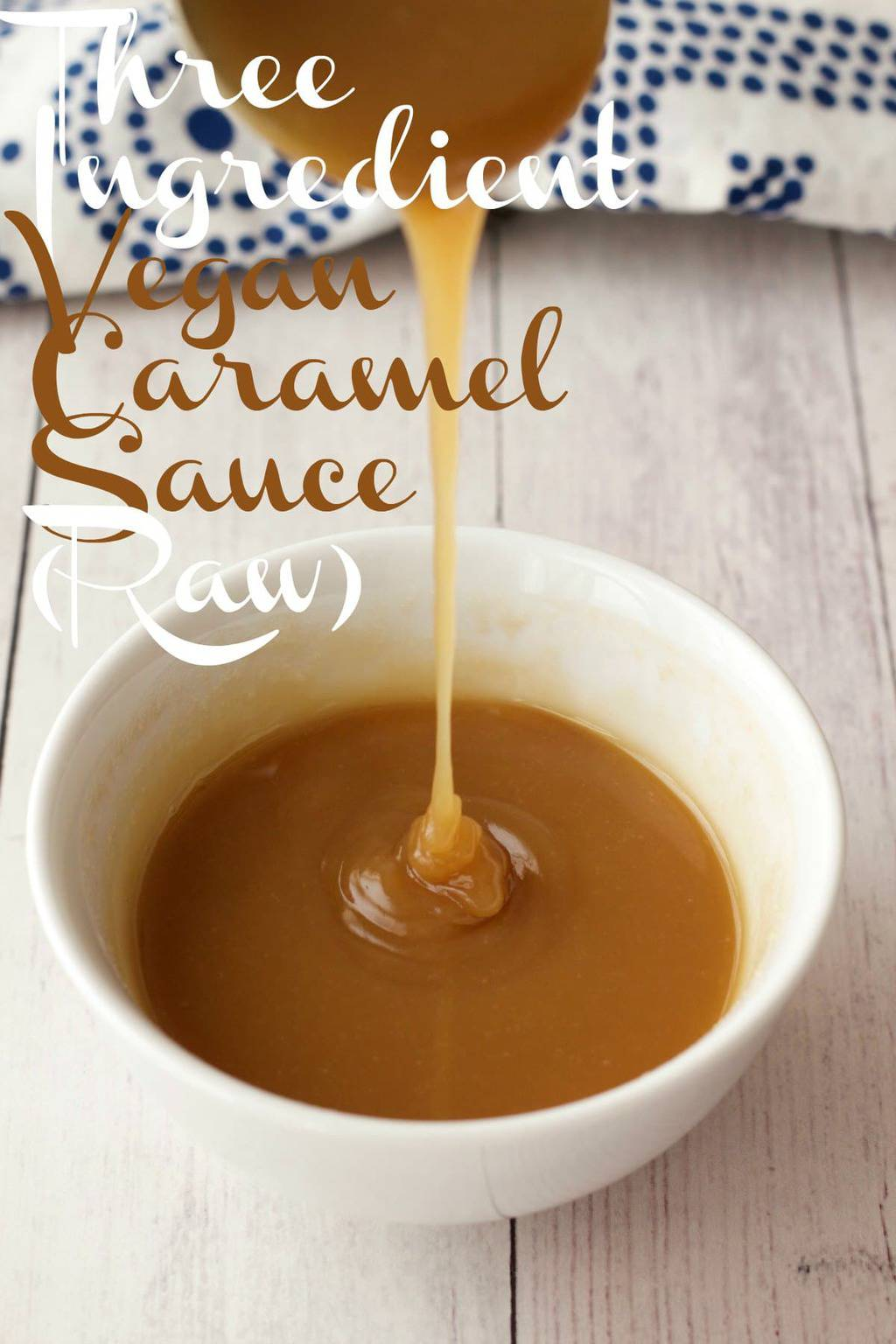 3-Ingredient Vegan Caramel Sauce! #vegan #lovingitvegan #rawvegan #caramelsauce #dessert