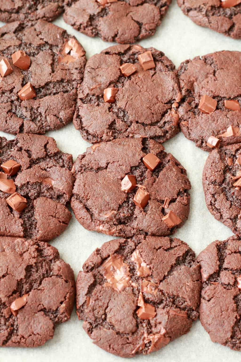 Vegan Chocolate Cookies - Loving It Vegan
