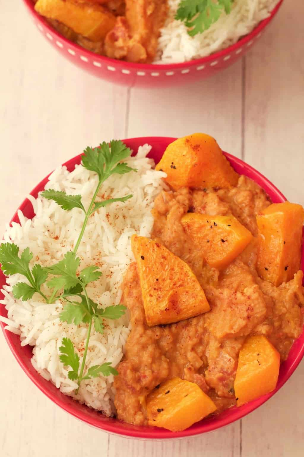 Spicy Curry Butternut Squash Hummus And Aloo Matar Recipe ...